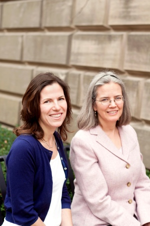 Katherine Wolfe and Jane Wallace for Pitt Chronicle