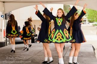 Irish Dancers at European Festival