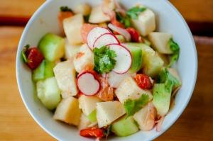Pepino & Jicama Salad from Colonia