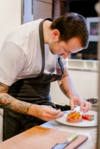 Chef Ryan Peters of Brunoise